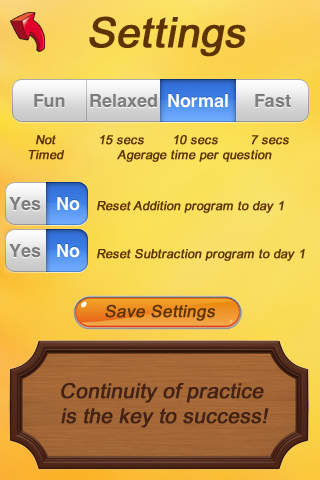 A+ Math Program FREE - Addition and Subtraction Success iPhone Screenshot 5