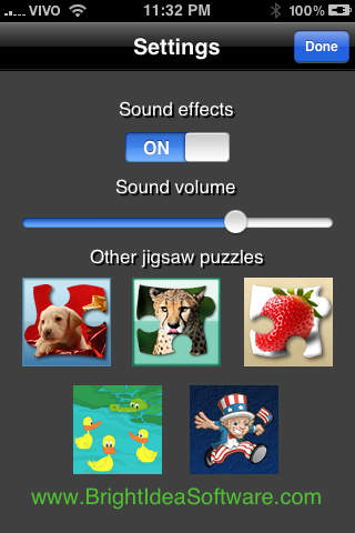 Bright Puzzles: Sea Life Lite iPhone Screenshot 3