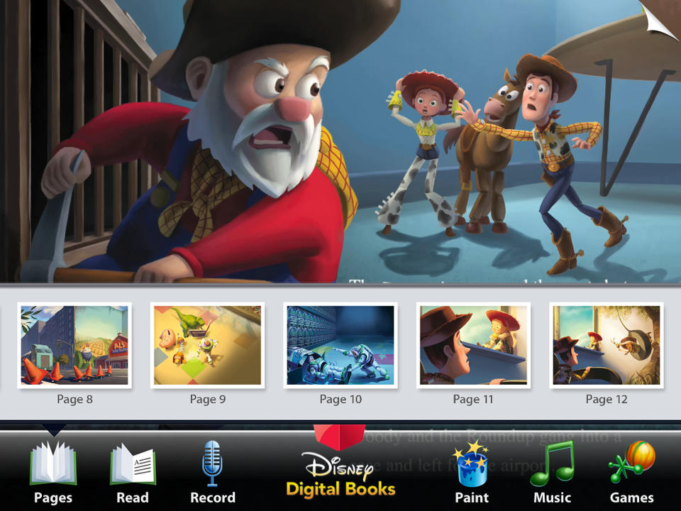 Toy Story 2 Read-Along - iPhone Mobile Analytics and App Store Data