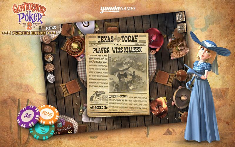 扑克总督2(完整版) Governor of Poker 2: Premium Edition  for Mac