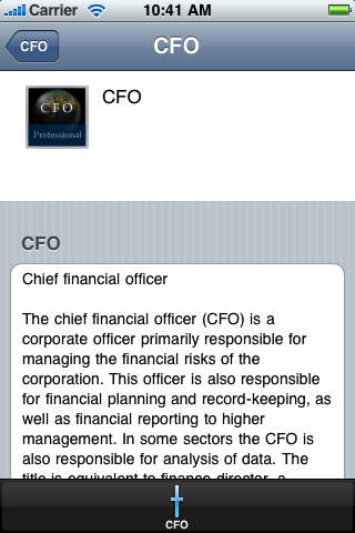 CFO Handbook (Professional Edition) screenshot 2