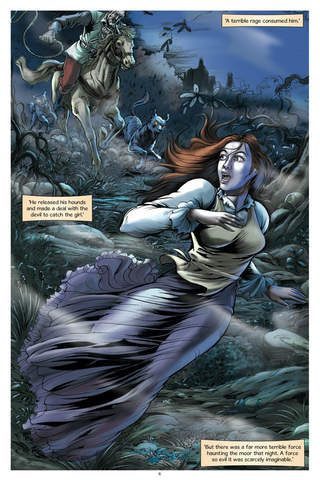 The Hound of the Baskervilles - the Graphic Novel - Preview