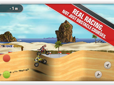 Mad Skills Motocross iPad Screenshot 1