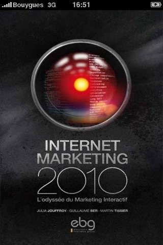 EBG Internet Marketing 2010 iPhone Screenshot 1