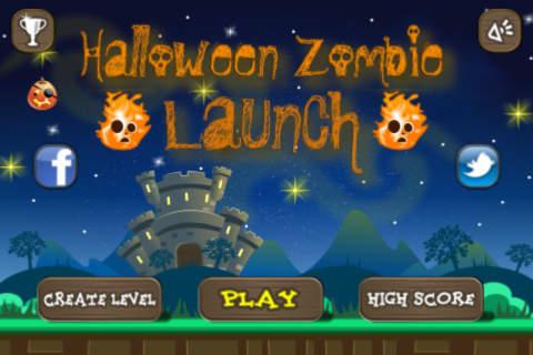 Halloween Zombie Launch