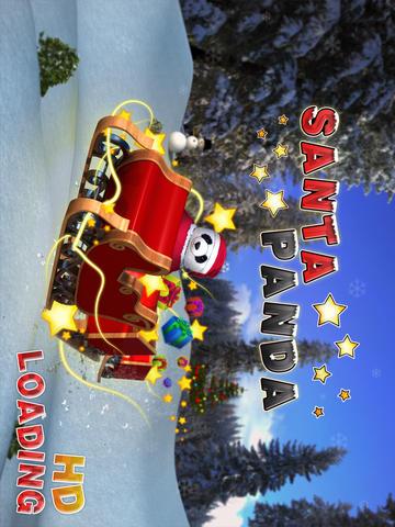 Santa Panda HD 玩遊戲App免費 玩APPs