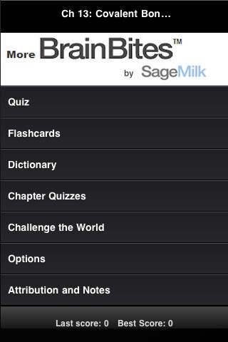 High School Chemistry Flashcards Dictionary Quiz