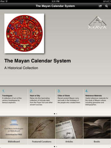 The Mayan Calendar System: A Historical Collection