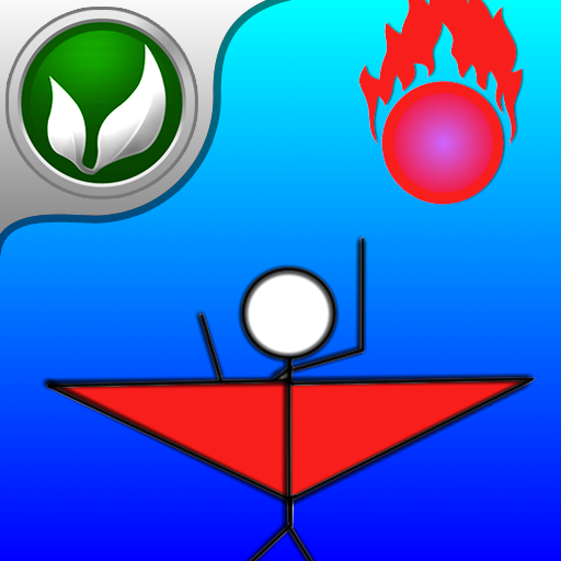 Adventure of Stickman: Fly In Space Free - Action Game