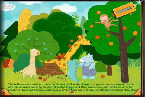 Finger Books-Grandpa Hippo's Garden
