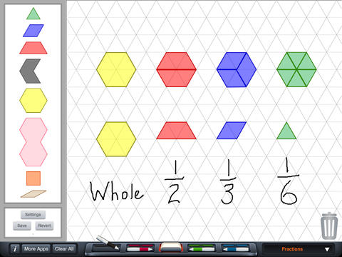 Pattern Blocks by Brainingcamp
