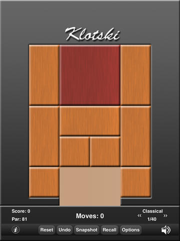 Klotski for iPad