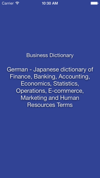 Libertuus Business Dictionary – Deutsch - Japanisch Wörterbuch für Begriffe aus den Bereichen Finanzen und Volkswirtschaftslehre. Libertuusビジネス用語辞書 – ドイツ語 — 日本語のファイナンスおよび経済学用語辞書です