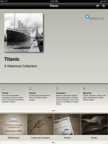 Titanic: A Historical Collection