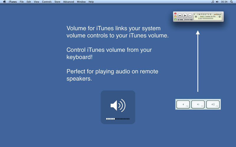 Volume for iTunes Screenshot