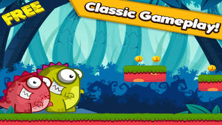 Abby The Cute Dino in Dinosaur Land - Awesome Run And Jump Story Game For Kids FREE