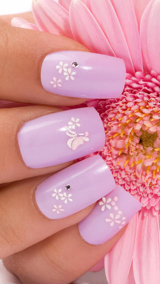 Nail Designs 2014: French Manicures, Seasonal, Colour Blends, Wedding, Abstract, Coloured Acrylic, Paint and Polish, Airbrushed Body Art
