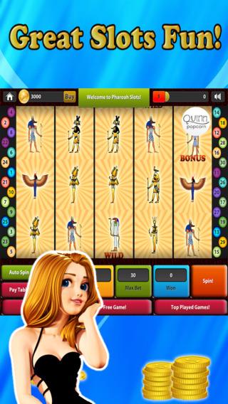 Pharaoh Slots - Las Vegas Video Slot Machine With Ancient Hidden Treasures LT Free