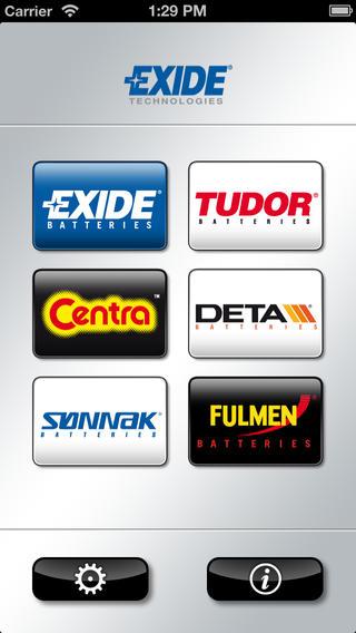 EXIDE Technologies Battery Finder