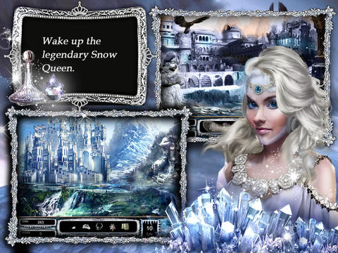 Aphrodite's Fairyland HD - hidden objects puzzle game