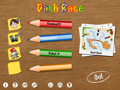 Dash Race iPad Screenshot 1