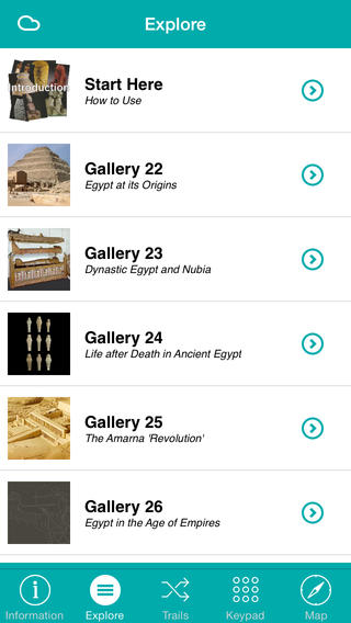 Ashmolean Museum iPhone Screenshot 5