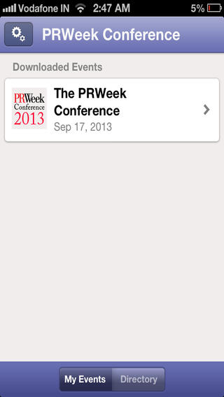 PRWeek Conference