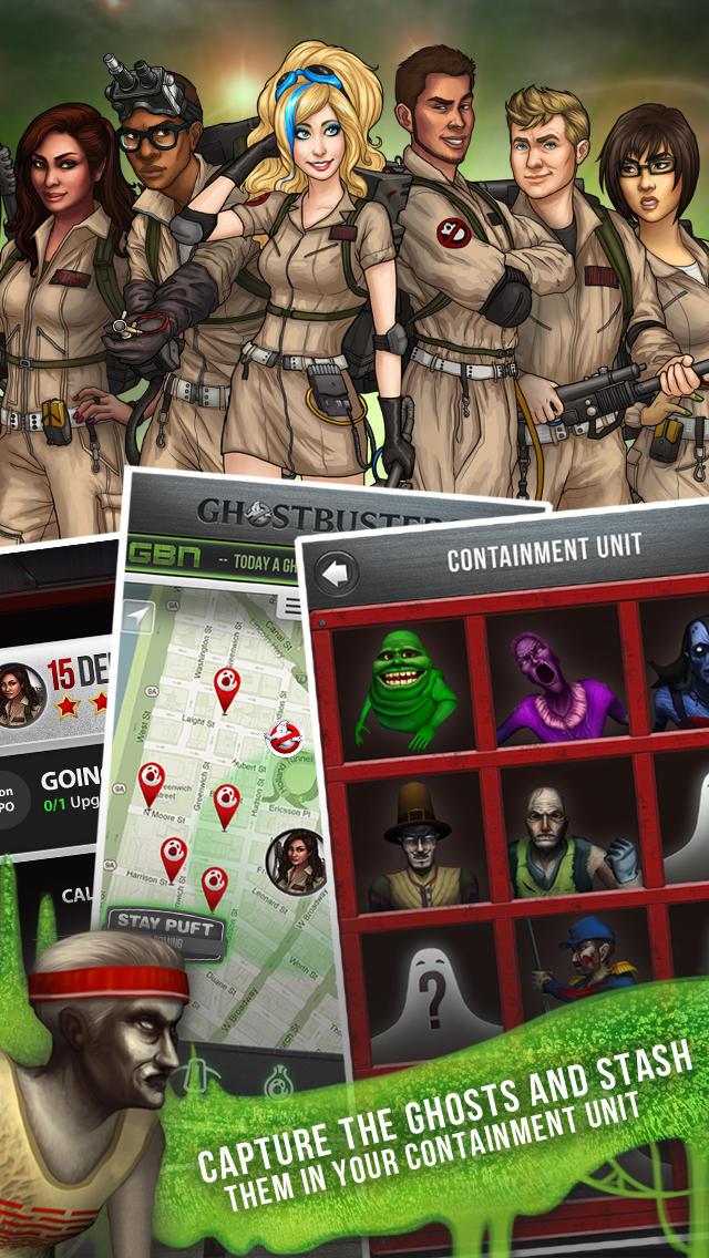 Ghostbusters Paranormal Blast screenshot 5
