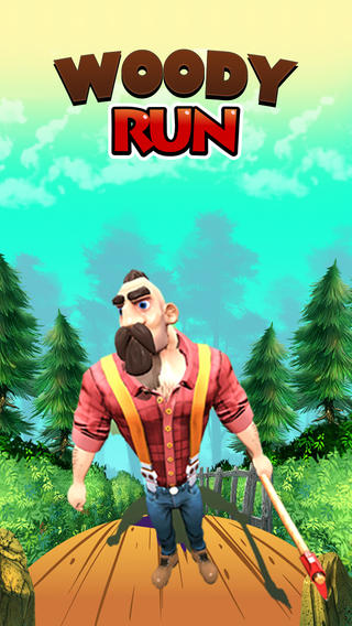 Woody RUN -Escape from Jungle Bear chase