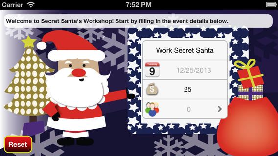 Secret Santa's Workshop