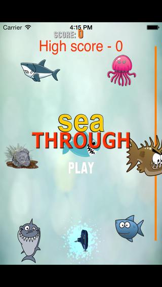 Sea breakthrough