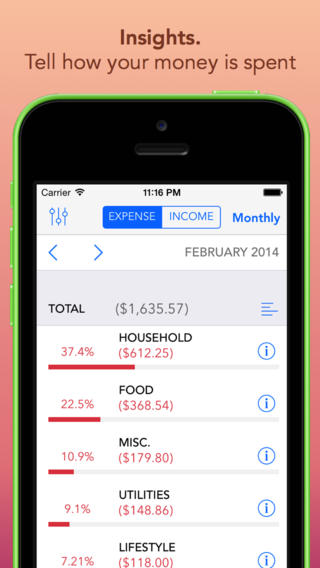Clara – Personal Finance for iPhone