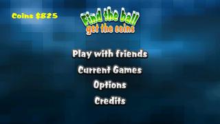Screenshot 1 найти мяч получить монеты — прохладный мультиплеер бесплатная игра!