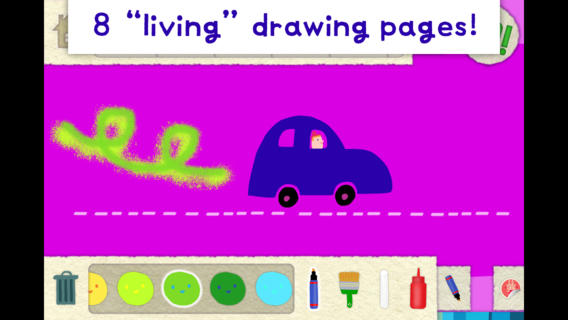 Lazoo: Squiggles Interactive Animated Coloring Boo