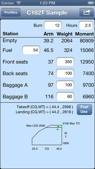 玩工具App|Aircraft Weight & Balance免費|APP試玩