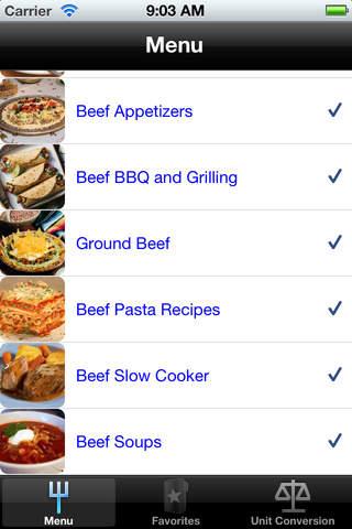 Beef Recipe Pack