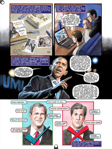 Political Power: Barack Obama by Blue Water Comics and Auryn Apps. (on iPad)