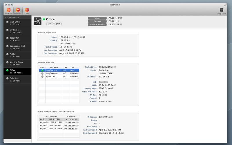 NetAdmin Screenshot - 2