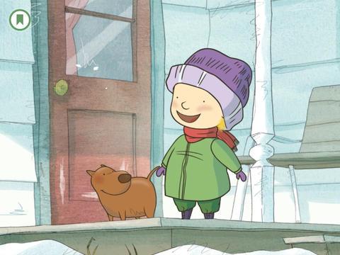 Into the Snow: A Stella and Sam Adventure iPad Screenshot 2
