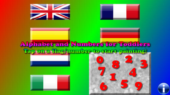 Alphabet and Numbers for Toddlers FREE