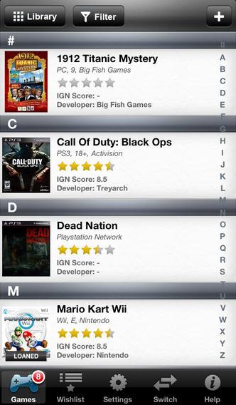 Collectors: Movies Games Books Comics Music Inventory Organizer