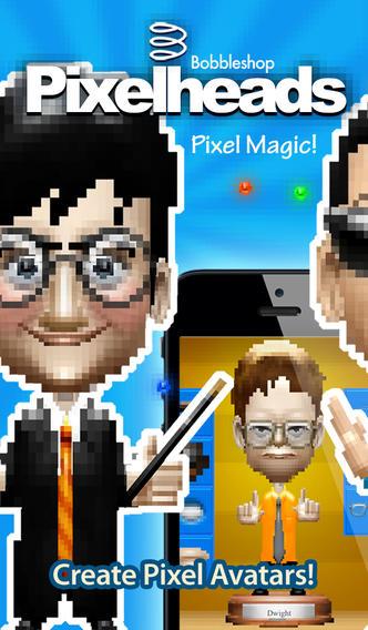 Pixelheads – 像素人像摇头头像制作Bobbleshop