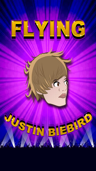Flying Justin Biebird - Flappy Singer