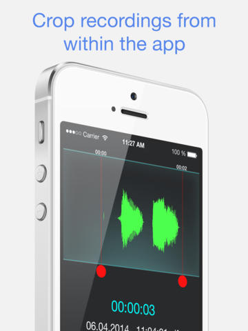 VoiceNotes© Voice Recorder HD