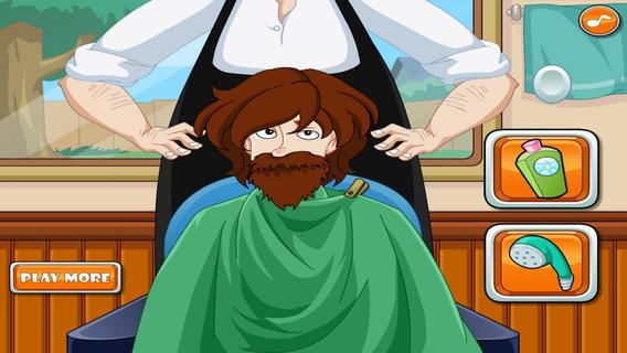 Men Hair Barber Salon