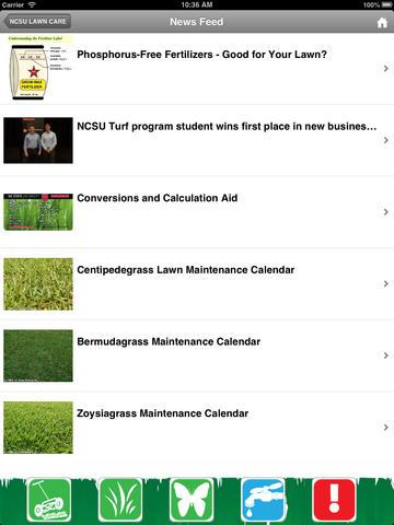 NCSU Lawn Care Screenshot