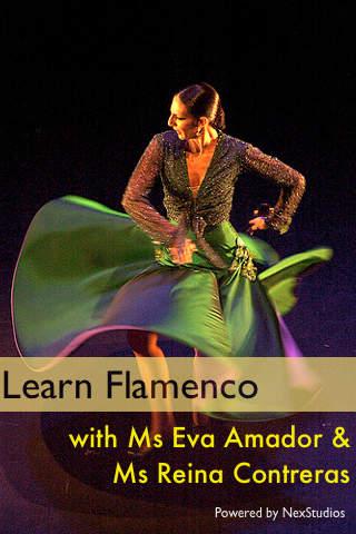 Learn Flamenco con Ms Eva Amador & Ms Reina Contreras screenshot 1