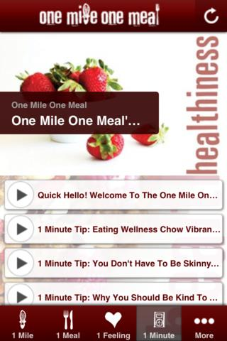 OneMileOneMeal screenshot 2
