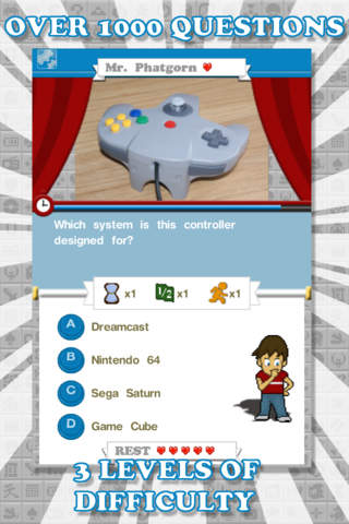 Quiz Game Land Lite iPhone Screenshot 1
