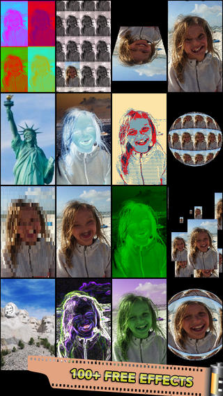 Mega Photo: 100+ Free Real-Time Camera Effects